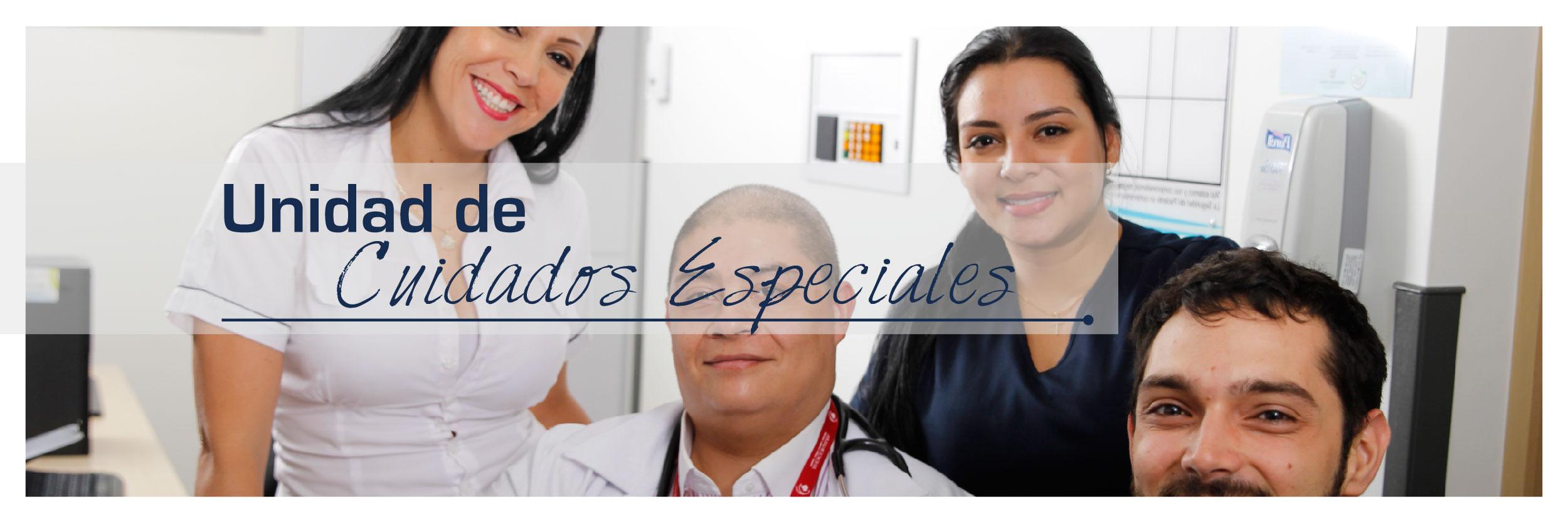 Unidad de Cuidados Especiales en la Clínica del Norte en Bello Antioquia