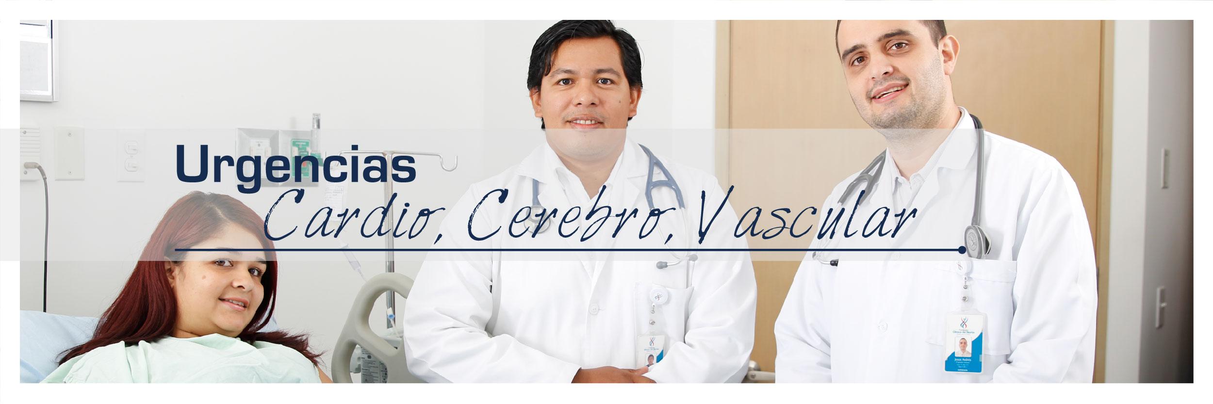 Especialistas en urgencias cardio, cerebro vascular