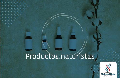 Productos naturistas - Fundación Clínica del Norte